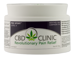 CBD CLINIC Pain Relief Ointment